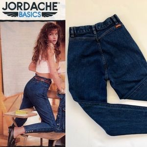 AMAZING! Vintage Jordache 80's high waisted jeans
